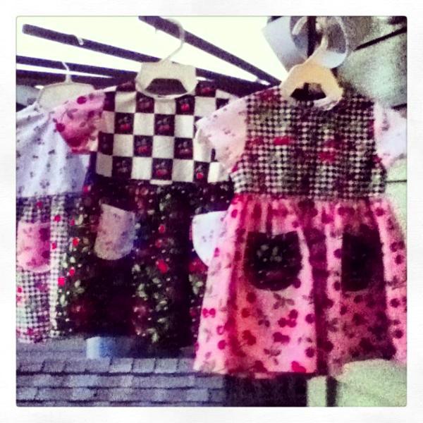 Cheerful Cherry print Dresses