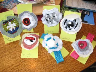 Pins, Barrettes and Headbands